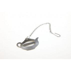 Teeli clip - support pour sachet de thé papier - lot de 10