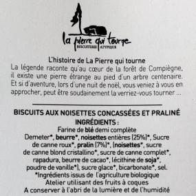 Biscuit croustillant - ULTRA NOISETTE