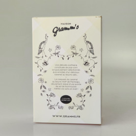 Gramm's - The French POP-CORN - Chocolat blanc & épices