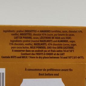 PRALUS - Barre infernale lait