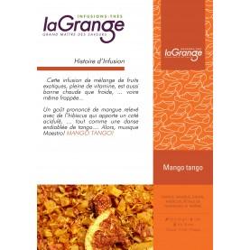 Boite cylindrique - 5x80g- fruits - Mango Tango