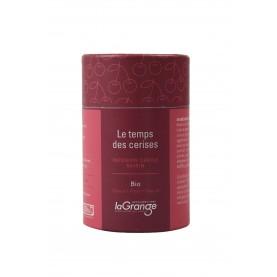 Boite cylindrique - 5x70g - Tisane -  Temps des cerises bio