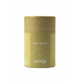 Boite cylindrique - 70gx5 - tisane -  coco givrée bio