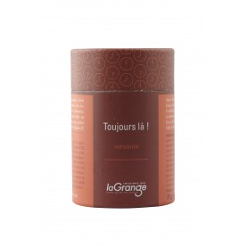 Boite cylindrique - 5x70g - infusion - toujours là