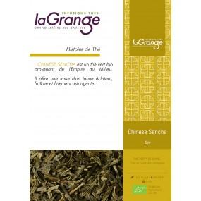 Boite sachet - 6x24 sachets - Thé vert nature - Chinese Sencha Bio