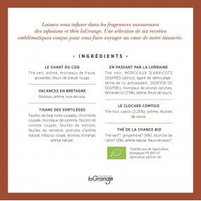 Coffret LES INTEMPORELS laGrange - 6 références - 48 sachets - lot de 3