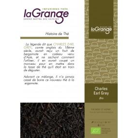 Boite sachet - 6x24 sachets - Thé noir bergamote - Charles Earl Grey Bio