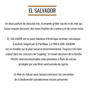 Café grain - El Salvador - MOF - 5 sachets de 200g