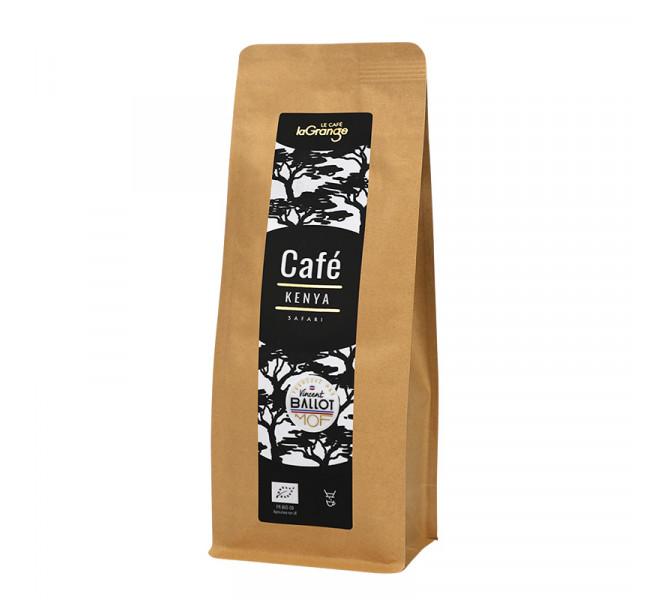 Café moulu -Kenya Bio - MOF - 5 sachets de 200g