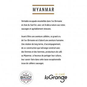 Café grain - Myanmar - Or Birman - 5 sachets de 800g