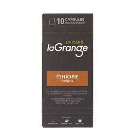 ETHIOPIE L'ORIGINE - Capsule café laGrange - boite de 10 - carton de 12 boites