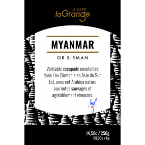 Café grain - Myanmar - Or birman - MOF - 3 kg