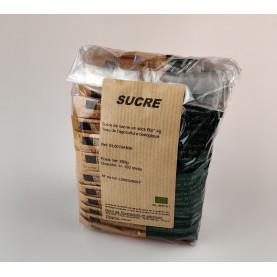 Sucre de canne en stick bio 4g - carton de 1200g soit 300 pièces