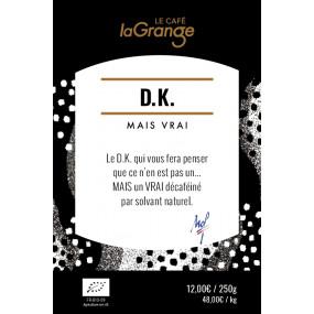 Café grain - DK mais vrai Bio - xxxxxxxxx - MOF - 3kg