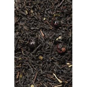 Boite sachet - 6x24 sachets - Thé noir fruits rouges - Le clocher comtois