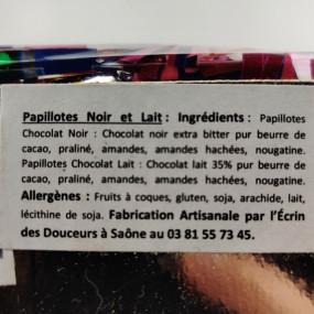 Papillottes pralinées de Franche-Comté