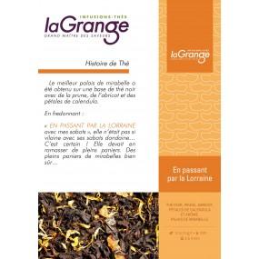 Boite sachet - 6x24 sachets - Thé noir  - En passant par la Lorraine
