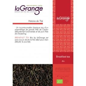 Boite sachet - 6x24 sachets - Thé noir nature  - English Breakfast Bio