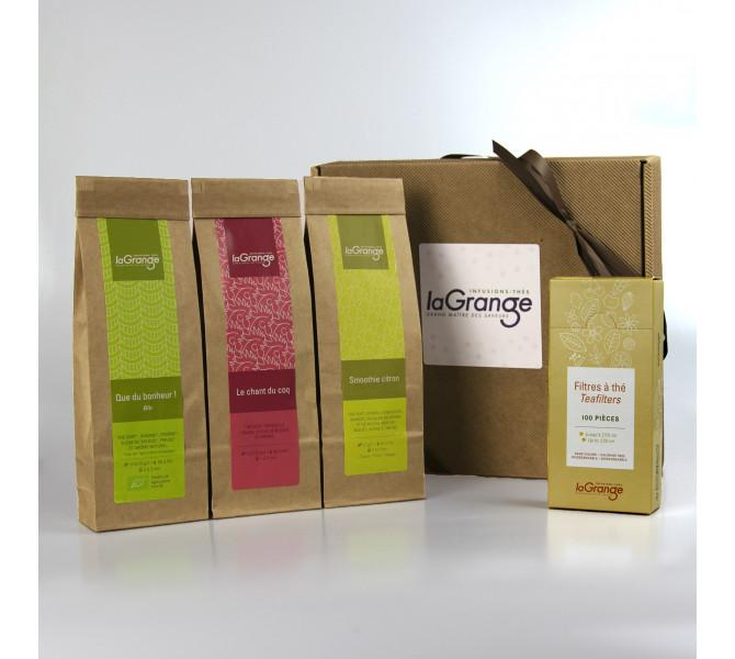 Coffret Le traditionnel - thés verts