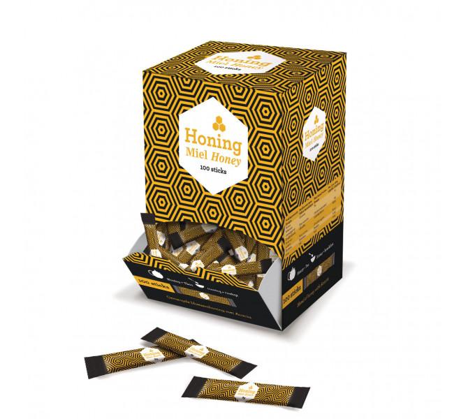 Sticks de miel - carton 800g soit 100 sticks