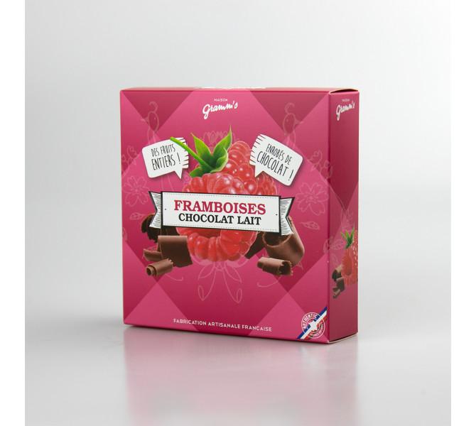 Framboises Chocolat lait