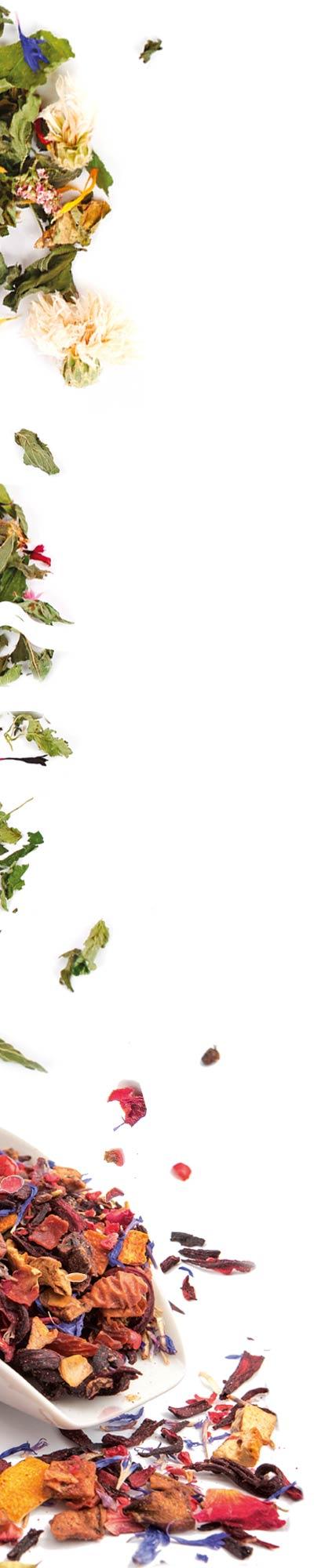 Pétales thé gauche